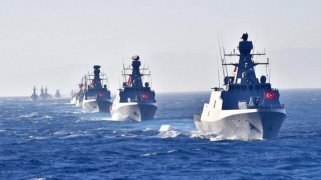 MSB: Doğu Akdeniz'de fiili atış tatbikatı gerçekleştirildi