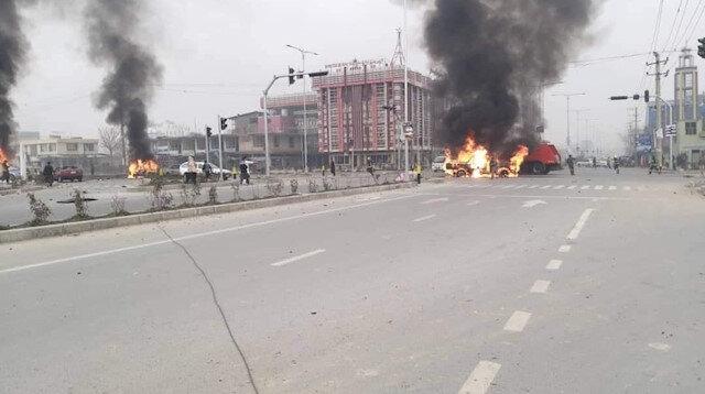 Kabil'de patlama: 8 ölü, 15 yaralı