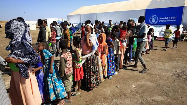 Etiyopyalı sığınmacılar yakınlarıyla Sudan'da buluşmayı umuyor