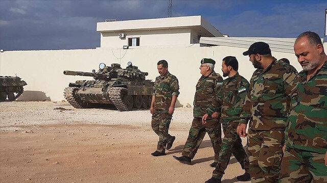 Suriye Milli Ordusu Ayn İsa'daki PKK mevzilerine operasyon düzenledi