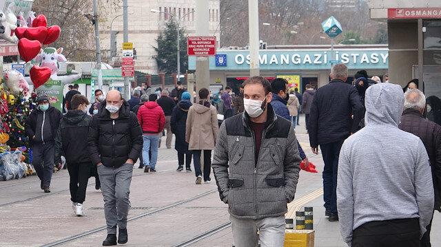 Bursa'da vaka sayısı yüzde 50 düştü: Vatandaş kısıtlamalardan memnun