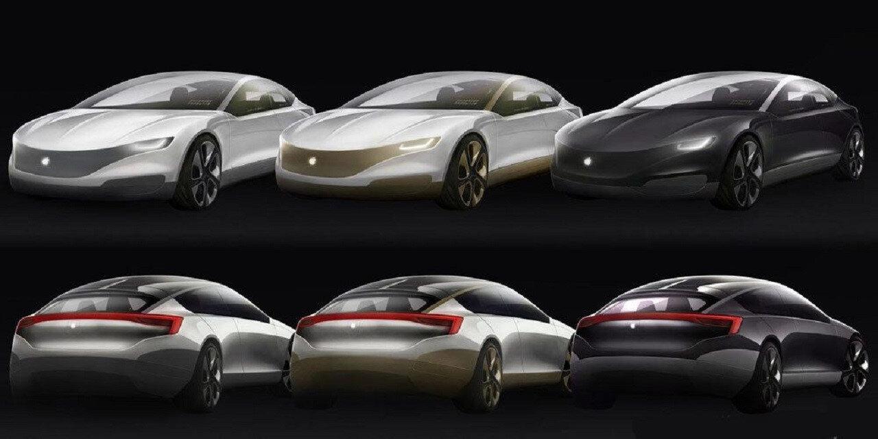 Project Titan projesi kapsamında daha önce birçok tasarımcının çizdiği otomobil bu şekilde.