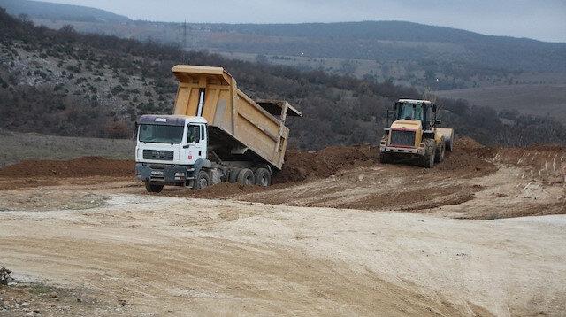 Söğüt'te dev altın rezervi bulunmuştu: Maden sahası havadan görüntülendi