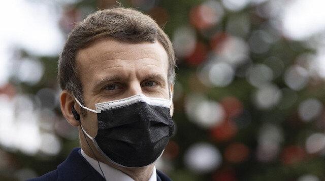 Fransa Cumhurbaşkanı Macron'un karantinası sona erdi