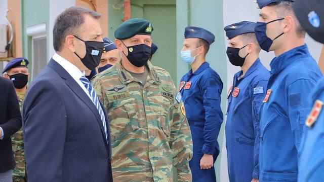 Πρόκληση από την Ελλάδα: Ο αρχηγός του Γενικού Επιτελείου Φλώρος επισκέπτεται νησιά μη στρατιωτικού καθεστώτος