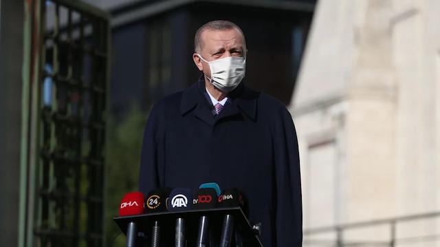 Πρόεδρος Ερντογάν: 4,5 εκατομμύρια εμβόλια θα έρθουν στην πρώτη θέση