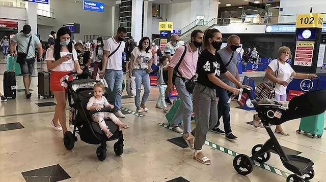 Türkiye'yi ocak-kasım döneminde 14 milyon 486 bin 632 kişi ziyaret etti