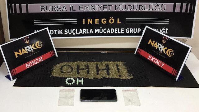 Uyuşturucu tacirine suçüstü yapan ekiplerden Bakan Soylu'ya destek: 'OH OHH'
