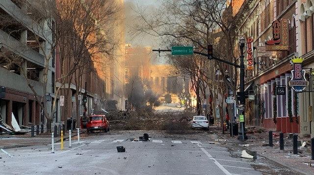 ABD'de karavanın patlaması sonucu 3 kişi yaralandı