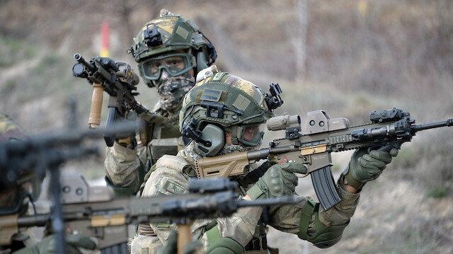 Sızma girişiminde bulunan 5 PKK'lı terörist etkisiz hale getirildi