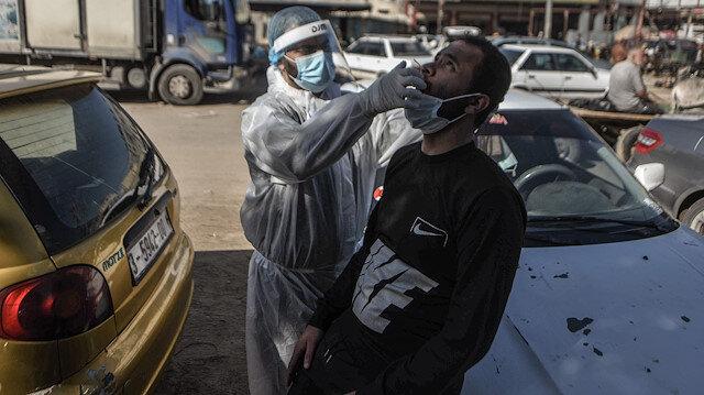 Gazze'de koronavirüs bilançosu: Vaka sayısı 37 bin 583'e yükseldi