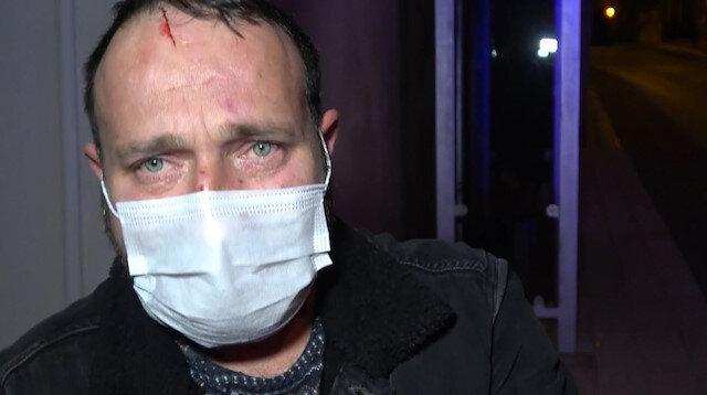 Karısının kolundan ısırıp darp ettiği adam, sokağa çıkma kısıtlamasında evden atıldı