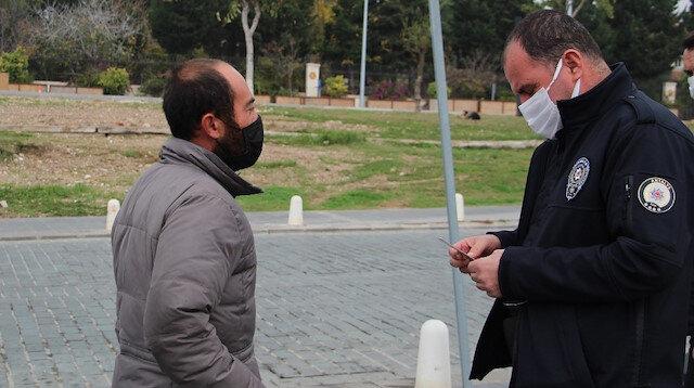 Antalya'da kalacak yeri olmayan adama kesilen ceza tepki toplamıştı: Emniyetten açıklama geldi