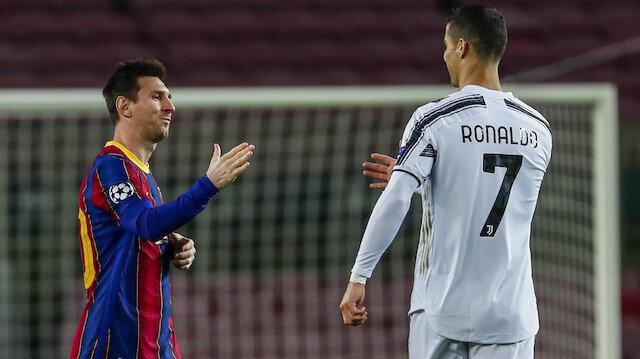 Messi'den Ronaldo itirafı: Ona hayranım