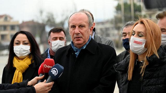 Muharrem İnce: CHP haftalık skandallarını üç günde bire düşürdü