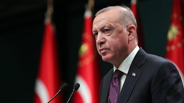 Cumhurbaşkanı Erdoğan'dan CHP'ye 'Demirtaş' tepkisi: Yetki sahibi olsalar bu terörist destekçisini serbest bırakacaklar