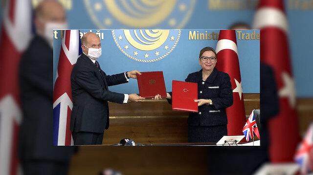 Türkiye ile İngiltere arasında tarihi Serbest Ticaret Anlaşması'nda imzalar atıldı