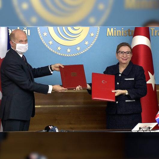Türkiye ile İngiltere arasında tarihi Serbest Ticaret Anlaşmasında imzalar atıldı