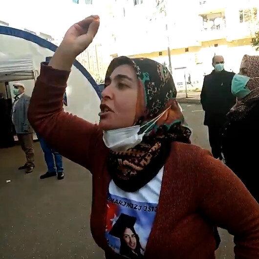 Evlat nöbetindeki acılı anneden Demirtaş tepkisi: Benim küçük kızımın özgürlüğü nerede?