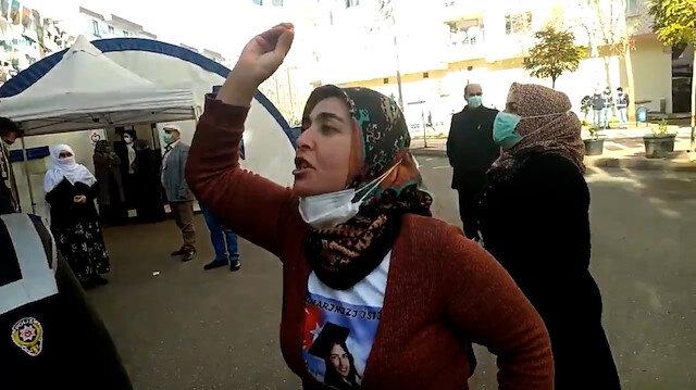 Evlat nöbetindeki acılı anneden 'Demirtaş' tepkisi: Benim küçük kızımın özgürlüğü nerede?