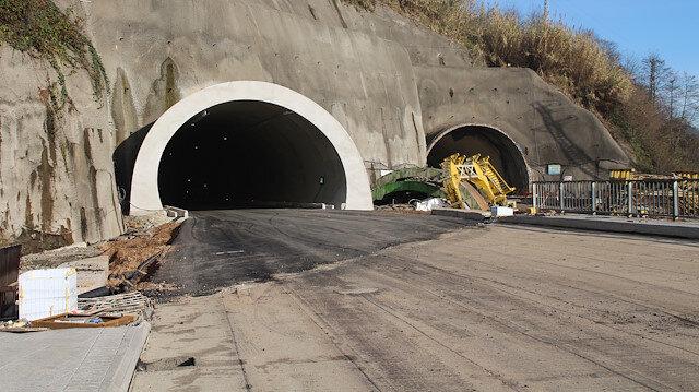 Hayaldi gerçek oldu: Salarha Tüneli'nin bir tüpü tamamlandı