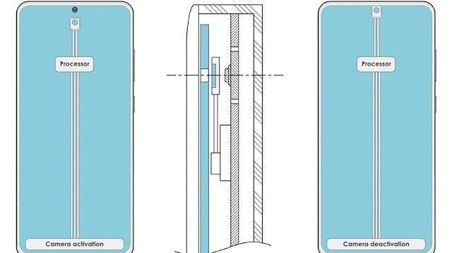 Samsung ekran altı kamera sistemi üzerinde çalışıyor