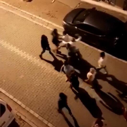Esenyurtta yabancı uyruklularla mahalle sakinleri birbirine girdi