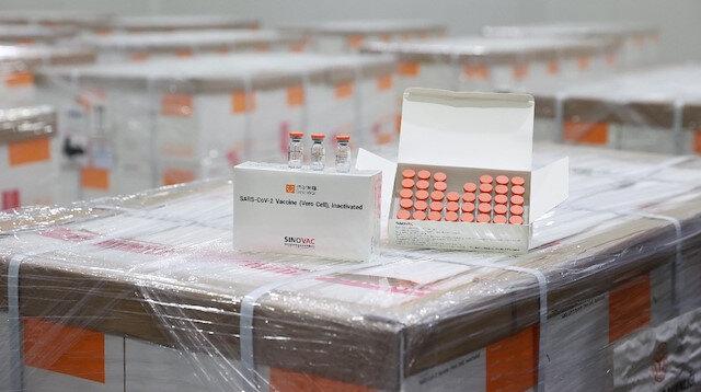 Çin'den gelen COVID-19 aşısı Sağlık Bakanlığı depolarında