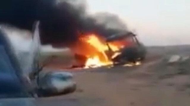 Suriye'de yolcu otobüsüne saldırı: 25 kişi hayatını kaybetti