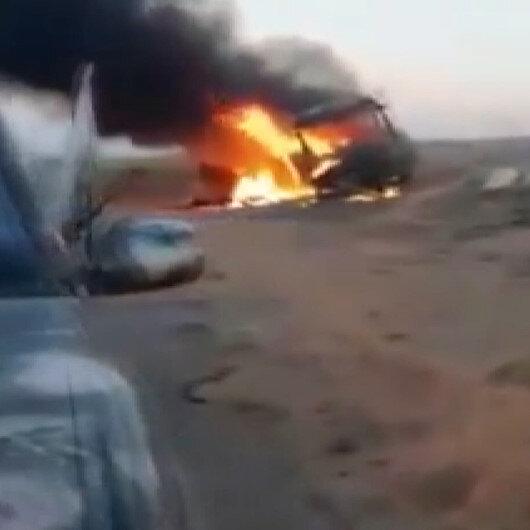 Suriyede yolcu otobüsüne saldırı: 25 kişi hayatını kaybetti