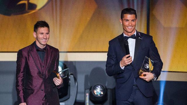 Cristiano Ronaldo, Lionel Messi'yi ikiye katladı