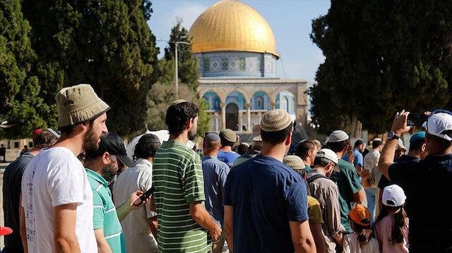 Mescid-i Aksa'ya 2020 yılında 18 bini aşkın Yahudi baskın düzenledi