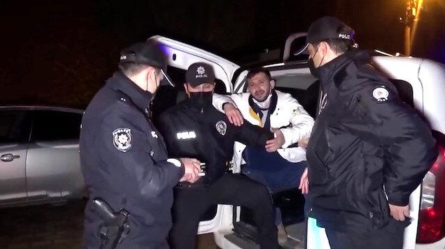 Edirne'de polis ile alkollü sürücü arasında ilginç diyalog: Size zorluk çıkarmak istedim, canını yiyeyim