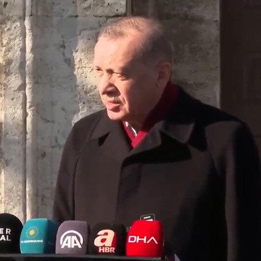 Cumhurbaşkanı Erdoğan: Almanya ve Rusyayla ortak aşı üretim meselesi söz konusu