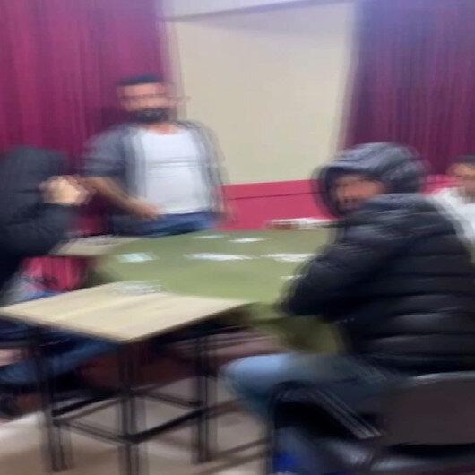 Bursada yeni yıla kumar oynayarak girenler polisi görünce neye uğradıklarını şaşırdılar