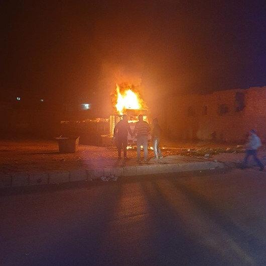 El Babda bomba yüklü kamyonet patladı: Sivil yaralılar var
