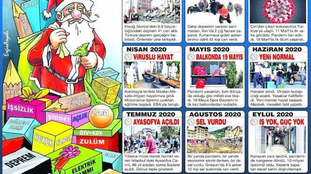 Sözcü '2020 felaketleri listesi'ne Ayasofya Camii'nin açılışını koydu