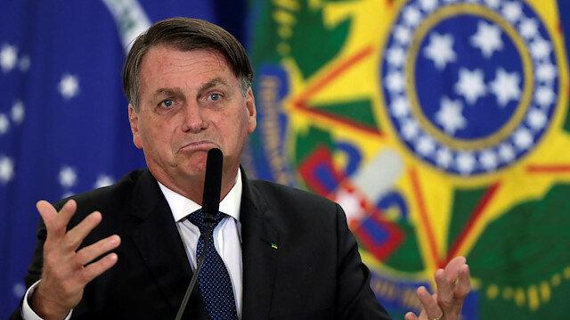 Brezilya Devlet Başkanı Bolsonaro, Covid-19'a meydan okumaya devam ediyor