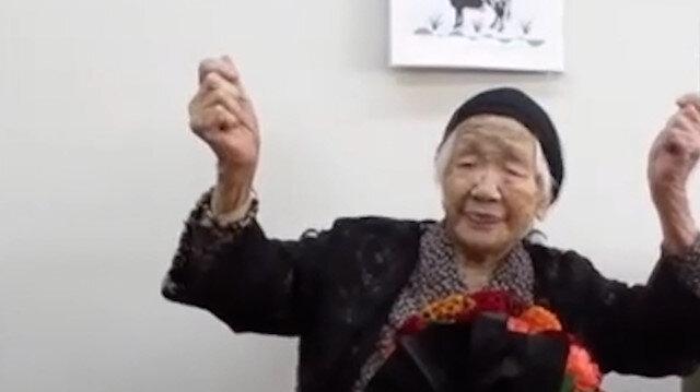 Dünyanın en yaşlı insanı Japon Kane Tanaka 118'inci yaş gününü kutladı