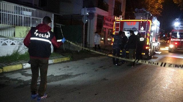 Tuzla'da doğalgaz kutusu patladı: Korku dolu anlar kameraya yansıdı