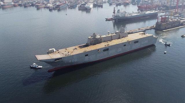 Türkiye'nin en büyük savaş gemisi ASELSAN ile görecek