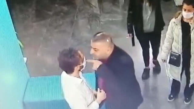 Küçükçekmece'de veteriner hekime saldırı anı kamerada