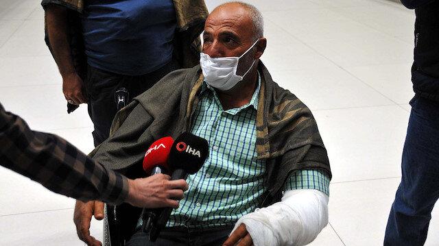 Somali'de hayatını kaybeden Türk işçilerin cenazeleri ve yaralılar Türkiye'ye geldi