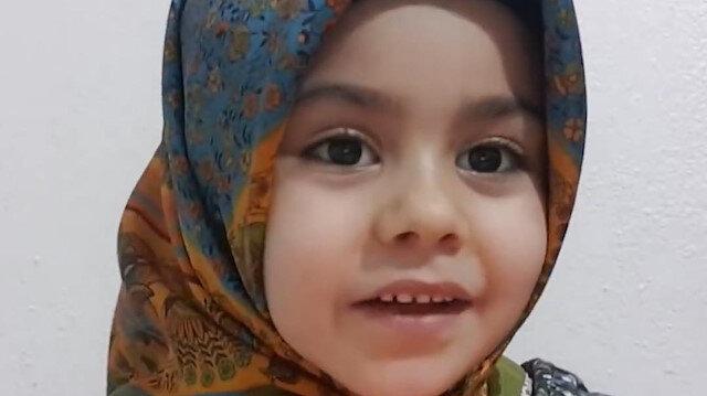 Altı yaşındaki Ayşe Hüma'dan namaza başlatacak sohbet