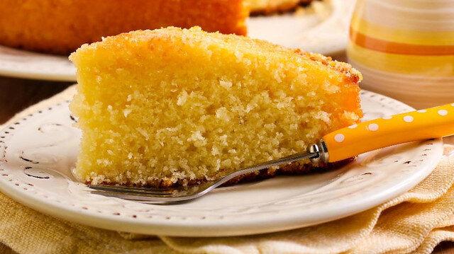 Şerbetli tatlıların en hafifi: Portakallı ıslak kek