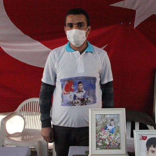 Evlat nöbetindeki babadan HDPye tepki: Oğlumu dağa gönderiyorlar ve beni de burada tehdit ediyorlar