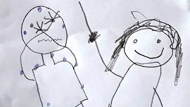 İki kardeşin resimlerle anlattığı cinsel istismar iddiasında anne ve üvey babaya tahliye