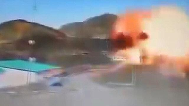 Azerbaycan Ermenistan'ın S-300'lerini kamikaze İHA'larla böyle vurdu