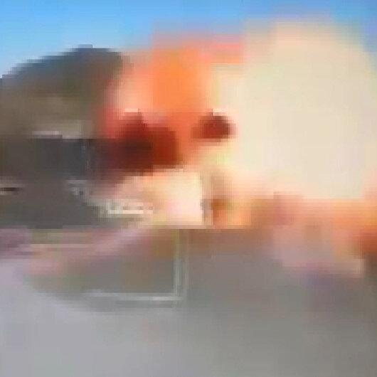 Azerbaycan Ermenistanın S-300lerini kamikaze İHAlarla böyle vurdu