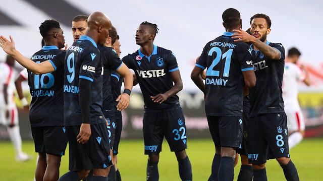 Trabzonspor'a 3 puanı Ekuban getirdi